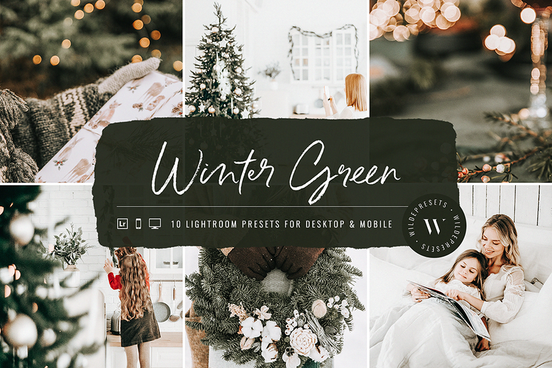 The Holiday Preset Bundle (80 Presets) OVER 85% OFF!!