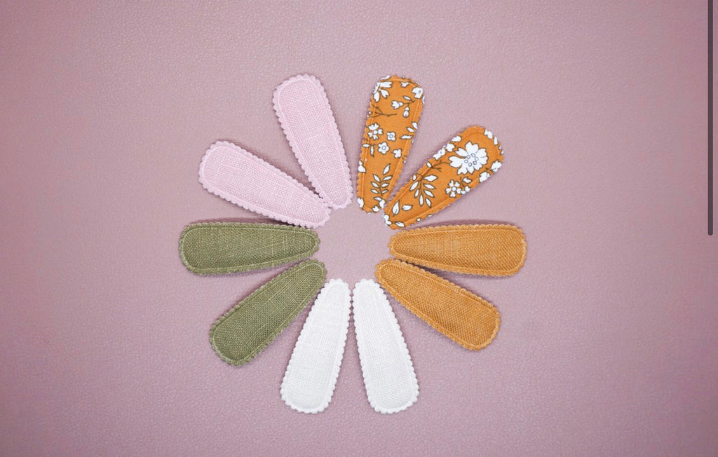 Emma Scallop Hair Clips