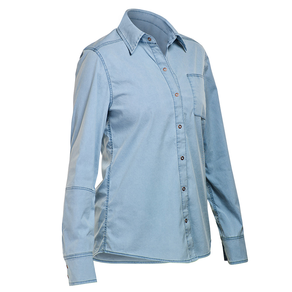 the EXPLORER SHIRT : Chambray