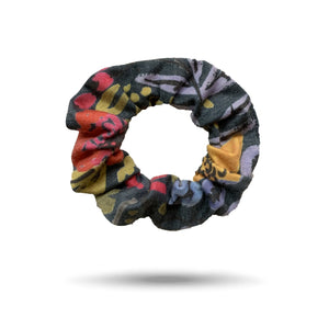 SHREDLy scrunchie, multicolor floral print