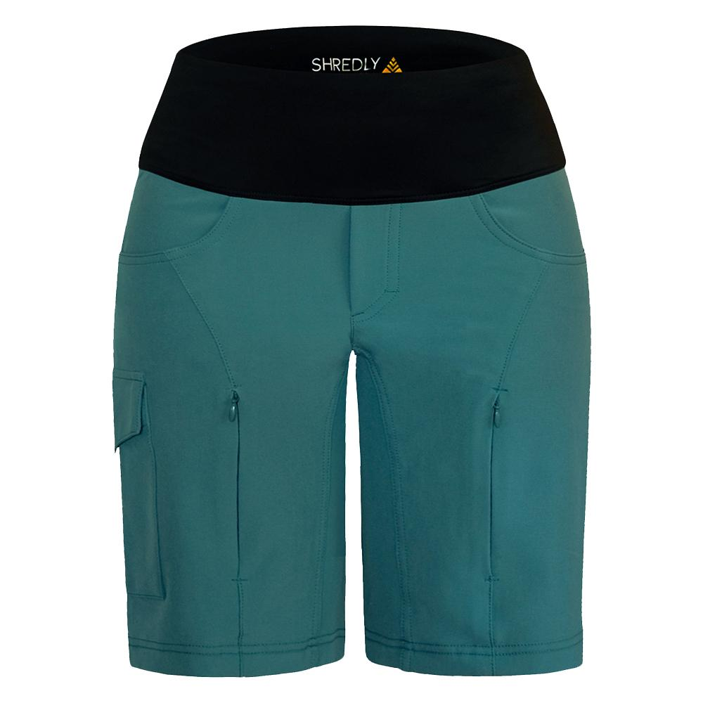 SHREDLY - the MTB CURVY SHORT : the AMELIA - SHREDLY - SHREDLY - image