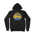 Limited Edition: Drive-In Hoodie - Blue/Gold