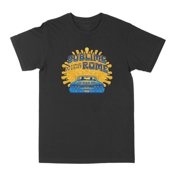 Limited Edition: Drive-In Tee - Blue/Gold