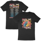 Sublime With Rome - Men's Tour Tee Black