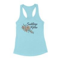 Sublime With Rome - Ladies Flowers Tank