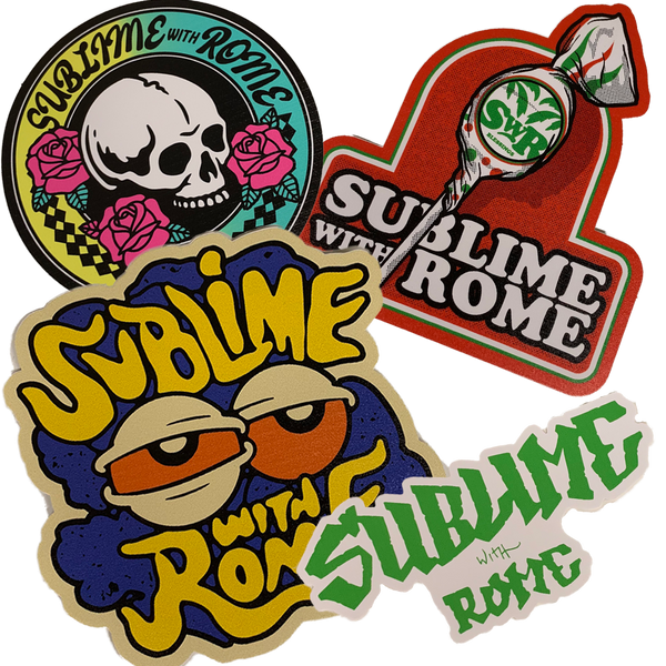 Sublime With Rome - Summer 2019 Sticker Pack