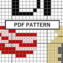 Load image into Gallery viewer, Cross Stitch Pattern - Make your own bacon [bags]
