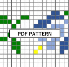 Load image into Gallery viewer, Cross Stitch Pattern - Bad and Boujee