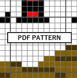 Cross Stitch Pattern - Nice beaver.