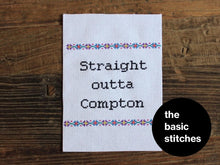 Load image into Gallery viewer, Cross Stitch Kit - Straight outta Compton