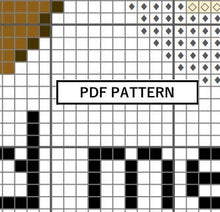 Load image into Gallery viewer, Cross Stitch Pattern - Hold me closer, tiny donuts