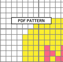 Load image into Gallery viewer, Cross Stitch Pattern - Valentine's Ornament - nope