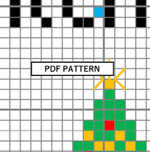 Load image into Gallery viewer, Cross Stitch Pattern - Christmas Ornament - It's Christmas b*tches