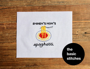 Cross Stitch Pattern - Eminem's Mom's spaghetti