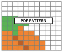 Load image into Gallery viewer, Cross Stitch Pattern - Mini Ornament - f*ck pumpkin
