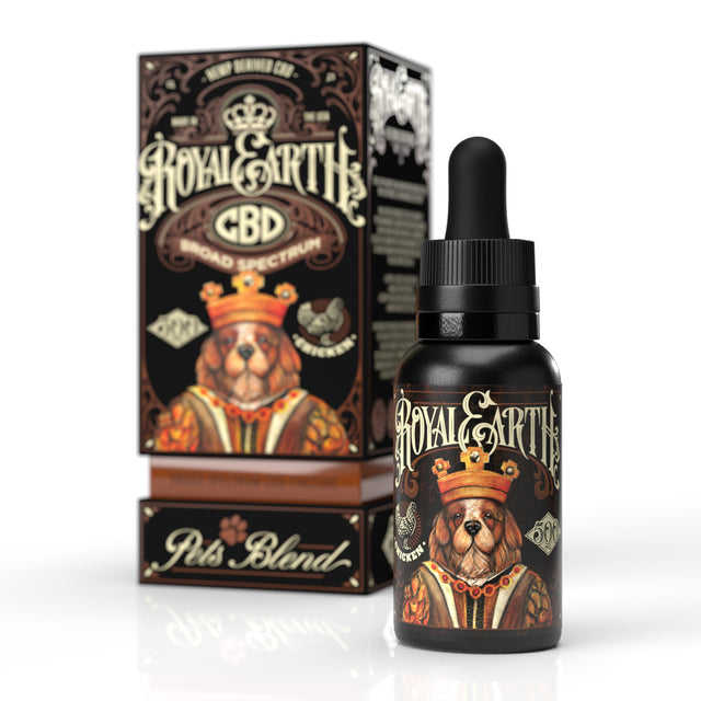 Pets' Blend Broad Spectrum CBD Oil Tincture