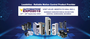 Leadshine Will Attend the AUTOMATION EXPO 2019 at Mumbai in India
