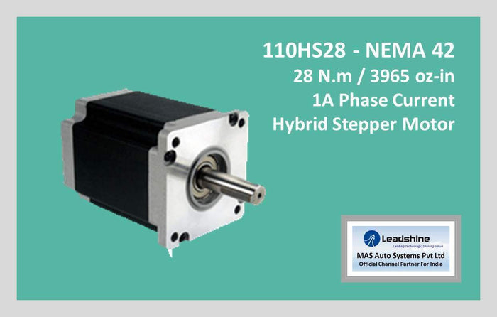 Leadshine Hybrid Stepper Motor HS Series - 110HS28 NEMA 42