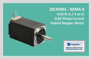 Leadshine Hybrid Stepper Motor CM Series - 20CM003 NEMA 8 - MAS Auto Systems Pvt Ltd