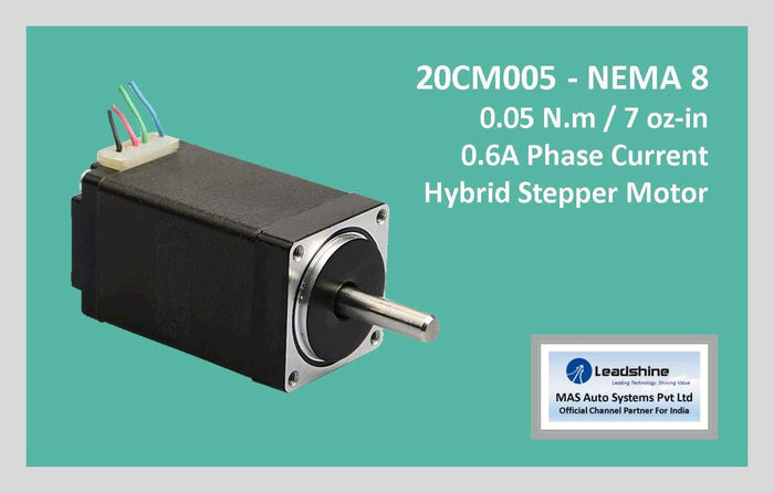 Leadshine Hybrid Stepper Motor CM Series - 20CM005 NEMA 8