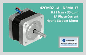 Leadshine Hybrid Stepper Motor CM Series - 42CM02-1A NEMA 17 - MAS Auto Systems Pvt Ltd