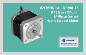 Leadshine Hybrid Stepper Motor CM Series - 42CM04-1A NEMA 17 - MAS Auto Systems Pvt Ltd