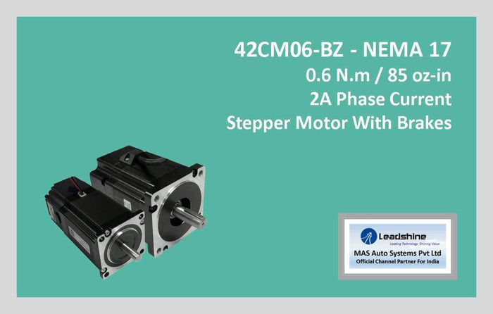 Leadshine Stepper Motor With Brakes 42CM06-BZ NEMA 17