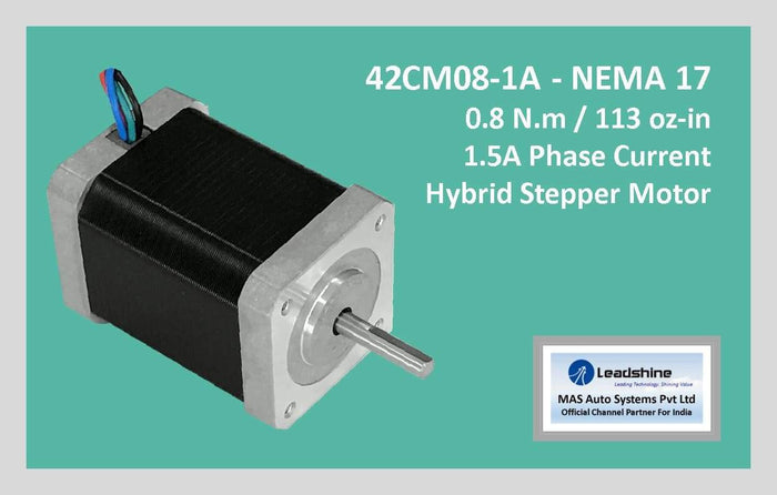 Leadshine Hybrid Stepper Motor CM Series - 42CM08-1A NEMA 17