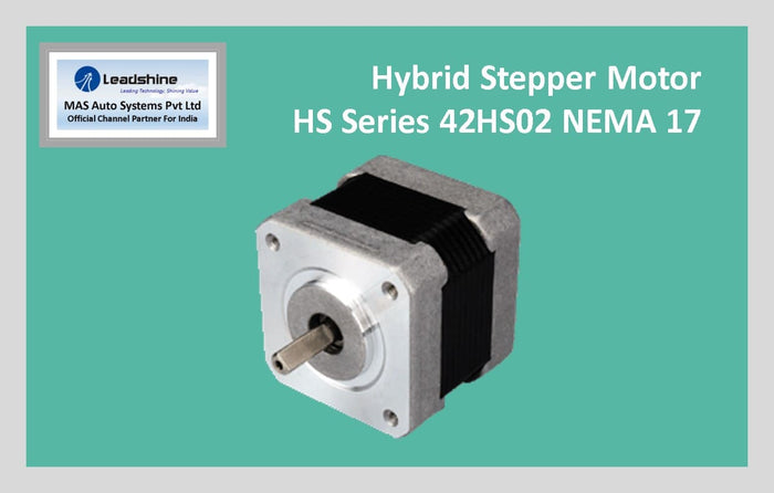Leadshine Hybrid Stepper Motor HS Series - 42HS02 NEMA 17