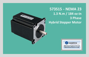 Leadshine Hybrid Stepper Motor HS Series - 573S15 NEMA 23 - MAS Auto Systems Pvt Ltd