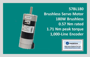 Leadshine Brushless Servo Motor 57BL180 - MAS Auto Systems Pvt Ltd