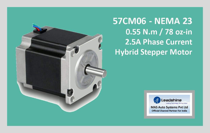 Leadshine Hybrid Stepper Motor CM Series - 57CM06 NEMA 23