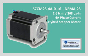 Leadshine Hybrid Stepper Motor CM Series - 57CM23-4A-0-16 NEMA 23 - MAS Auto Systems Pvt Ltd