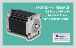 Leadshine Hybrid Stepper Motor CM Series - 57CM23-4A NEMA 23 - MAS Auto Systems Pvt Ltd