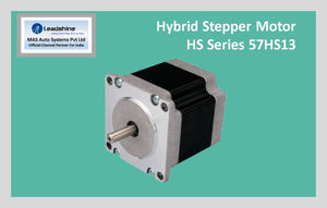 Leadshine Hybrid Stepper Motor HS Series - 57HS13 NEMA 23 - MAS Auto Systems Pvt Ltd