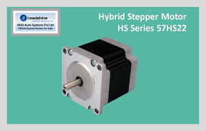 Leadshine Hybrid Stepper Motor HS Series - 57HS22 NEMA 23 - MAS Auto Systems Pvt Ltd