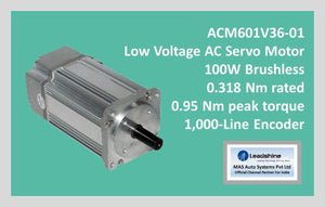 Leadshine Low Voltage AC Servo Motor ACM Series ACM601V36-01 - MAS Auto Systems Pvt Ltd