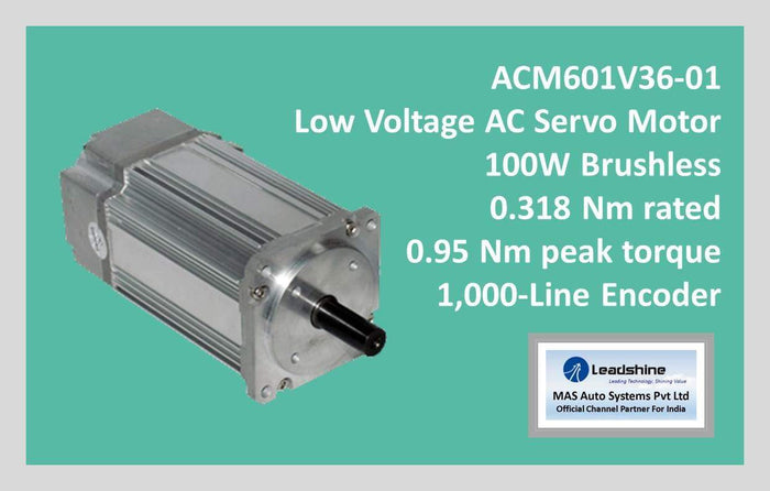 Leadshine Low Voltage AC Servo Motor ACM Series ACM601V36-01