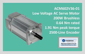 Leadshine Low Voltage AC Servo Motor ACM Series ACM602V36-01 - MAS Auto Systems Pvt Ltd