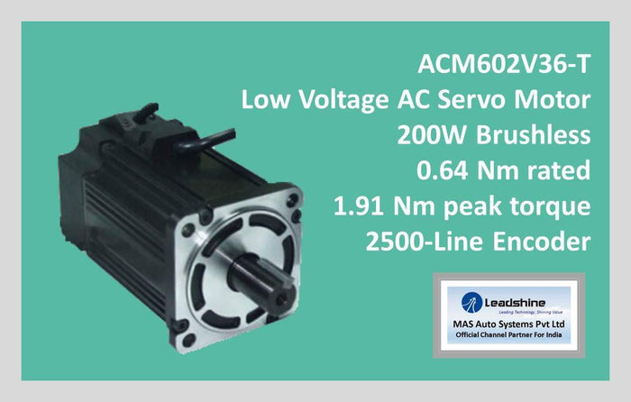 Leadshine Low Voltage AC Servo Motor ACM Series ACM602V36-T