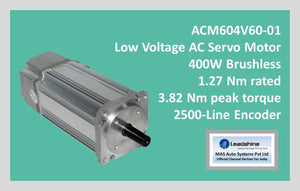 Leadshine Low Voltage AC Servo Motor ACM Series ACM604V60-01 - MAS Auto Systems Pvt Ltd