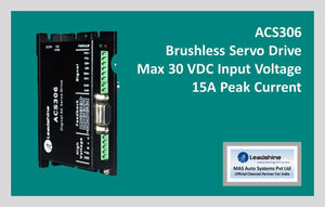 Leadshine Brushless Servo Drive ACS306 - Leadshine India