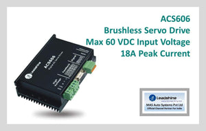 Leadshine Brushless Servo Drive ACS606 - MAS Auto Systems Pvt Ltd