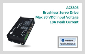 Leadshine Brushless Servo Drive ACS806 - Leadshine India