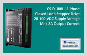 Leadshine Closed Loop Stepper Drive CS-D1008 - MAS Auto Systems Pvt Ltd