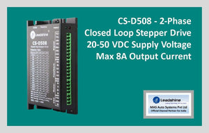 Leadshine Closed Loop Stepper Drive CS-D508 - MAS Auto Systems Pvt Ltd