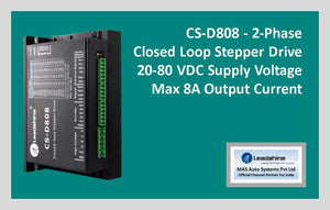 Leadshine Closed Loop Stepper Drive CS-D808 - MAS Auto Systems Pvt Ltd