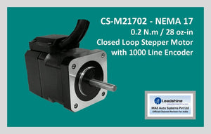 Leadshine Closed Loop Stepper Motor CS-M21702 NEMA 17 - MAS Auto Systems Pvt Ltd