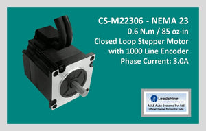 Leadshine Closed Loop Stepper Motor CS-M22306 NEMA 23 - MAS Auto Systems Pvt Ltd