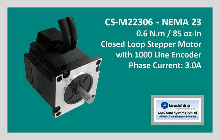 Leadshine Closed Loop Stepper Motor CS-M22306 NEMA 23